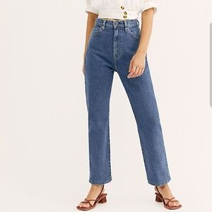 Levi's Made & Crafted 701 High Rise Straight Jeans